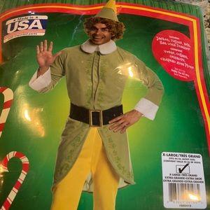 Buddy the elf costume size XL